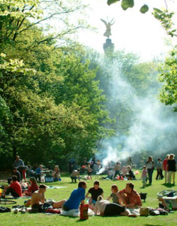 Barbecue Tiergarten