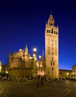 Kathedraal en Giralda toren