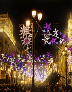 Kerstmarkten in Sevilla