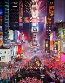 Oudejaarsavond op Times Square