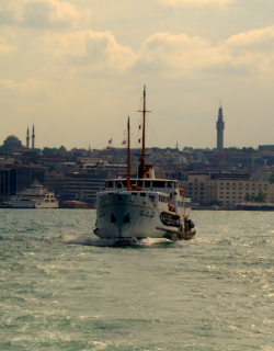 Boottocht over de Bosporus