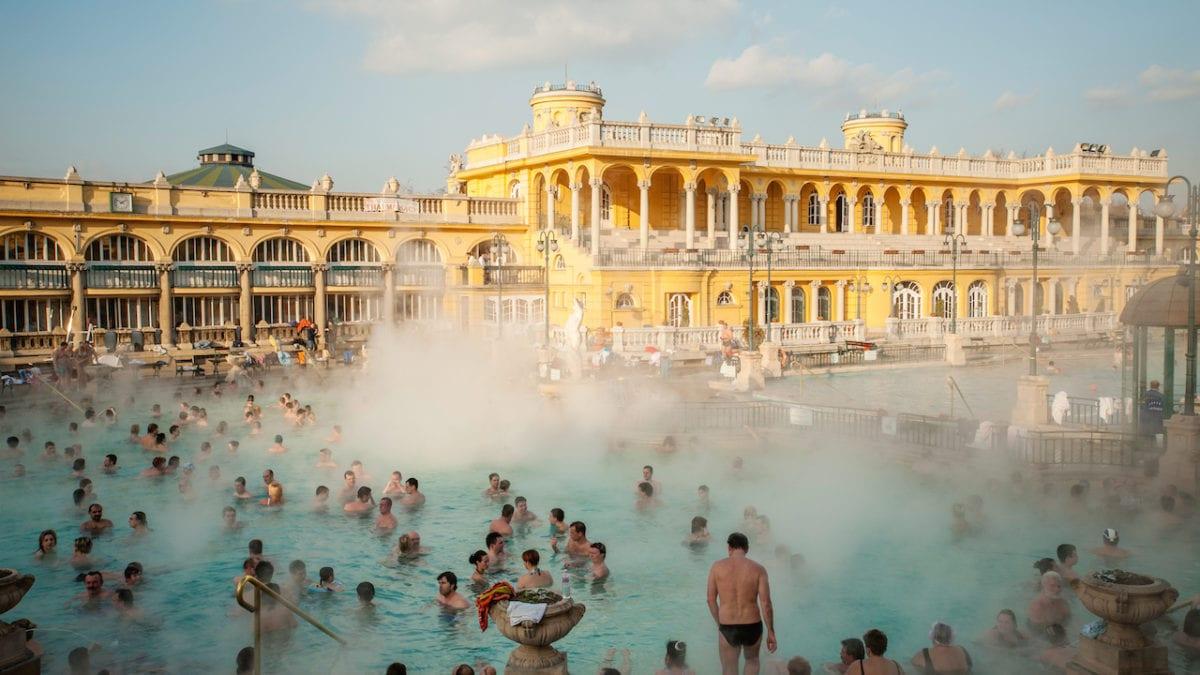 3x baden in Boedapest