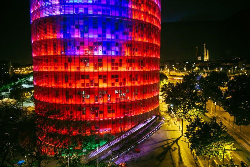 Op stap in Barcelona