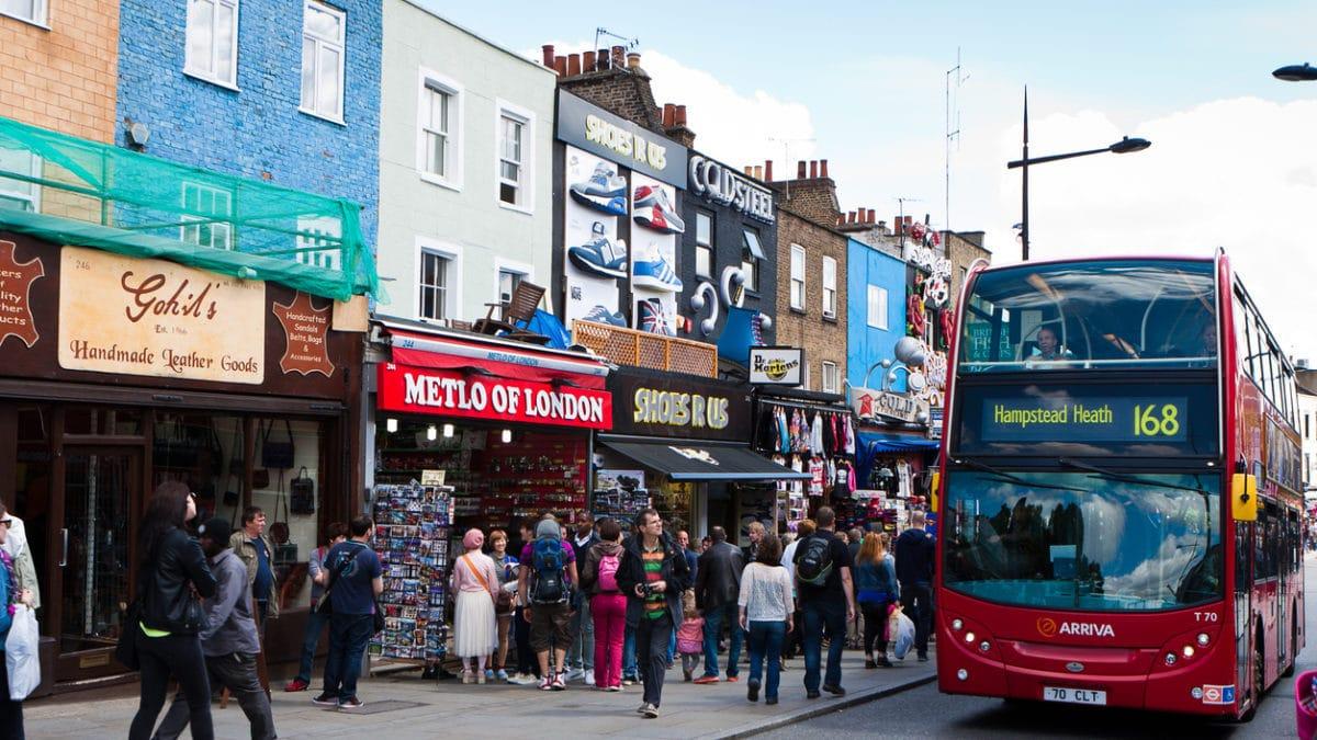 Waar te shoppen in Londen