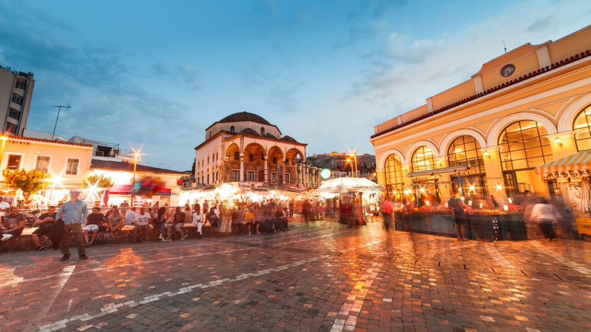 Feesten in Athene: hier moet je zijn