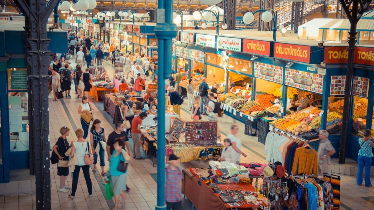 De beste plaats om te shoppen in Boedapest