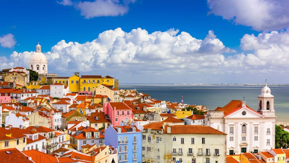Het klimaat in Lissabon