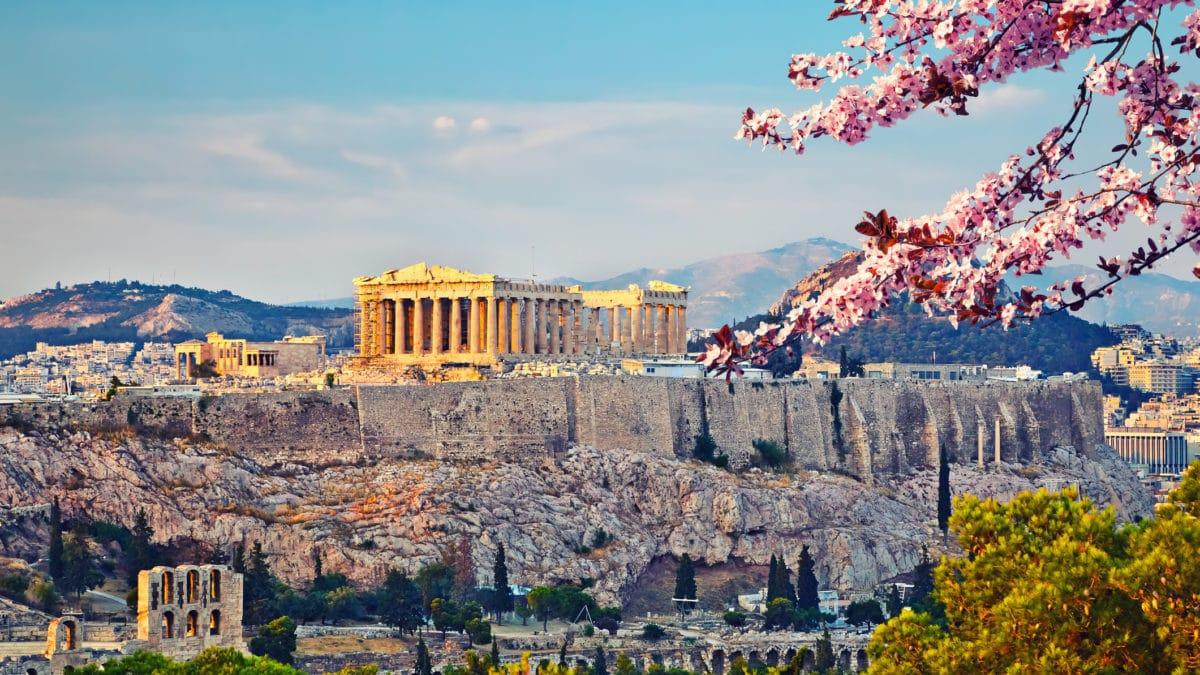 Het weer en klimaat in Athene