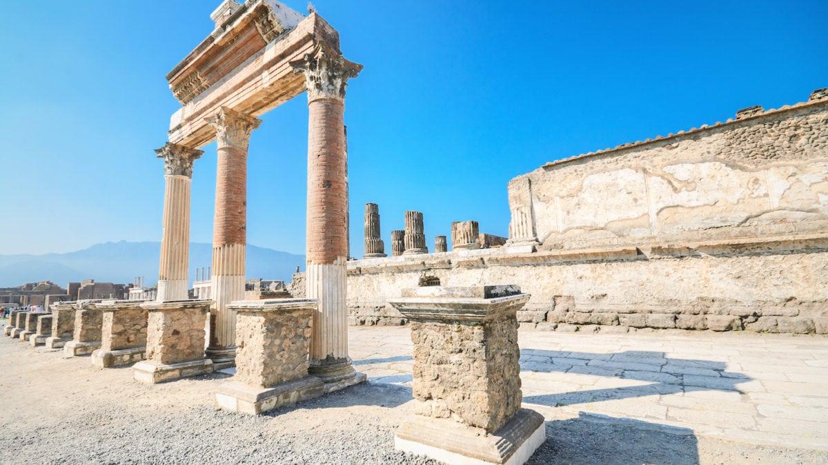 Laat jezelf betoveren door de ruïnes van Pompeii!