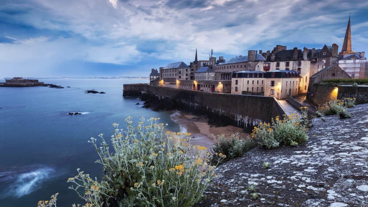 Saint-Malo: gebouwd (en herbouwd) op het geloof