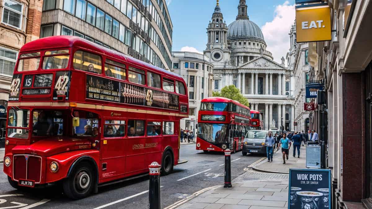 Zes must see wijken in Londen