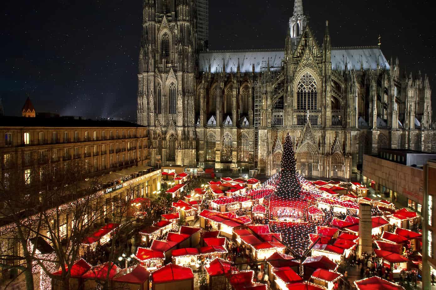 Kerstmarkt in Keulen