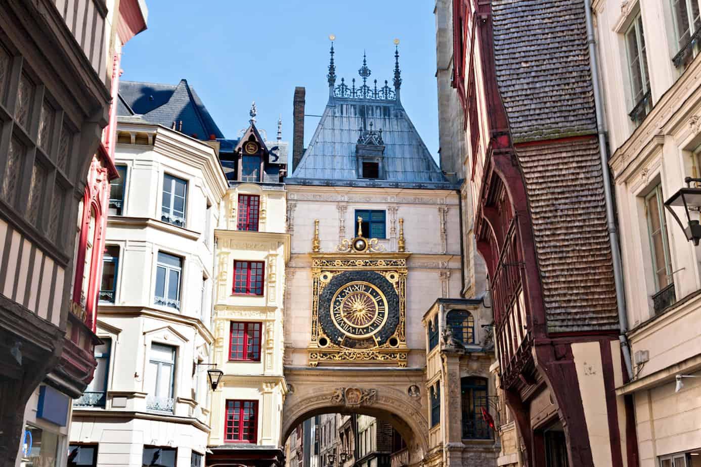 Het stadje Rouen