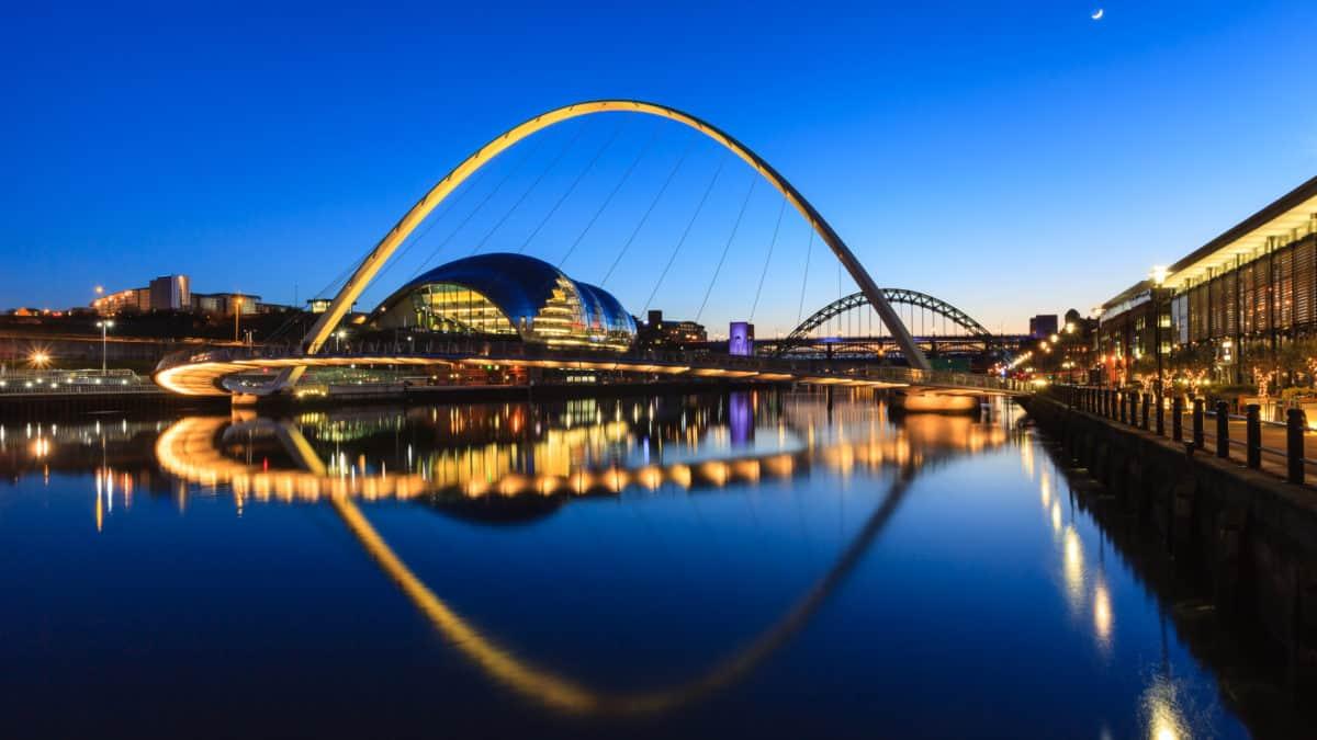 De vijf meest opvallende plekken in Newcastle