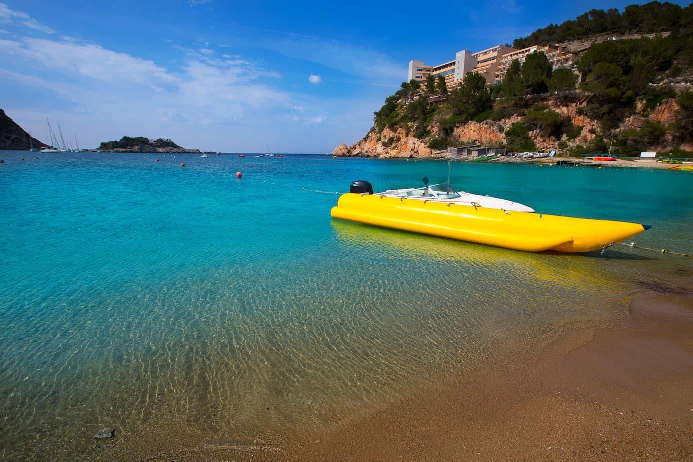 Strand van San Miguel in Ibiza