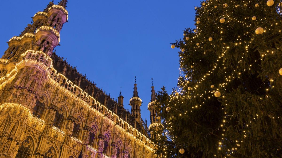 De leuke kerstmarkt van Leuven