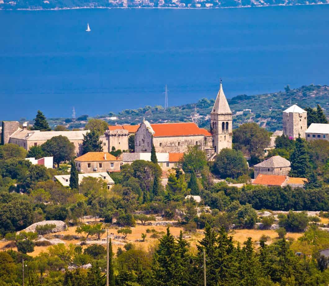 Dorp Skrip in Kroatië