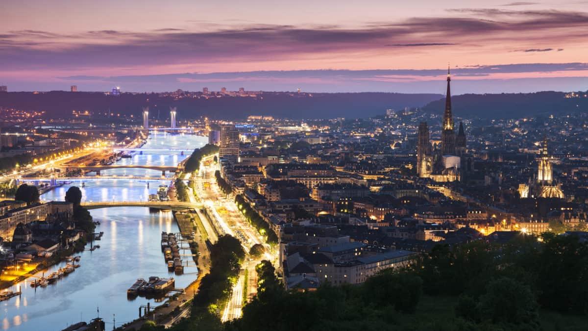 Rouen: prachtige hoofdstad aan de Seine