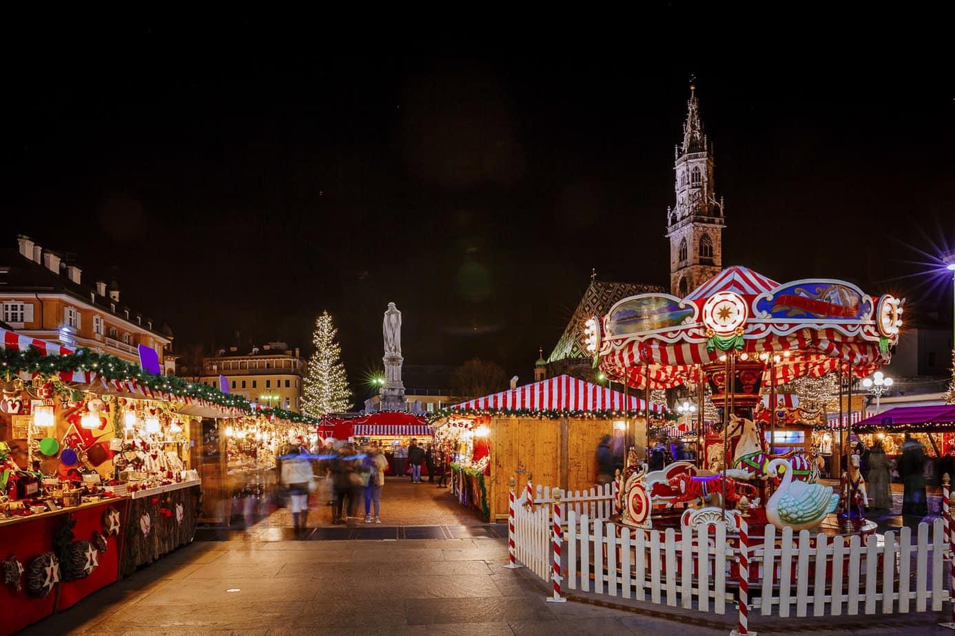 Kerstmarkt in Italië