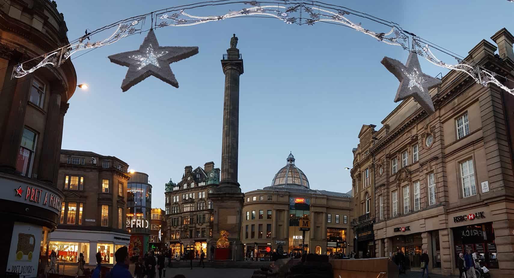 Grey's Monument Newcastle