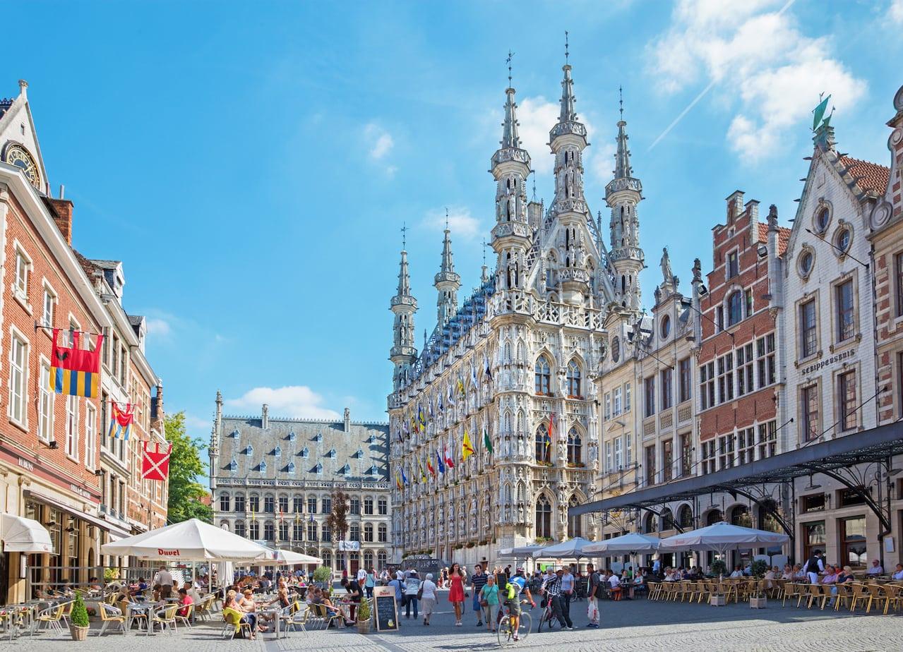 foto grote markt Leuven