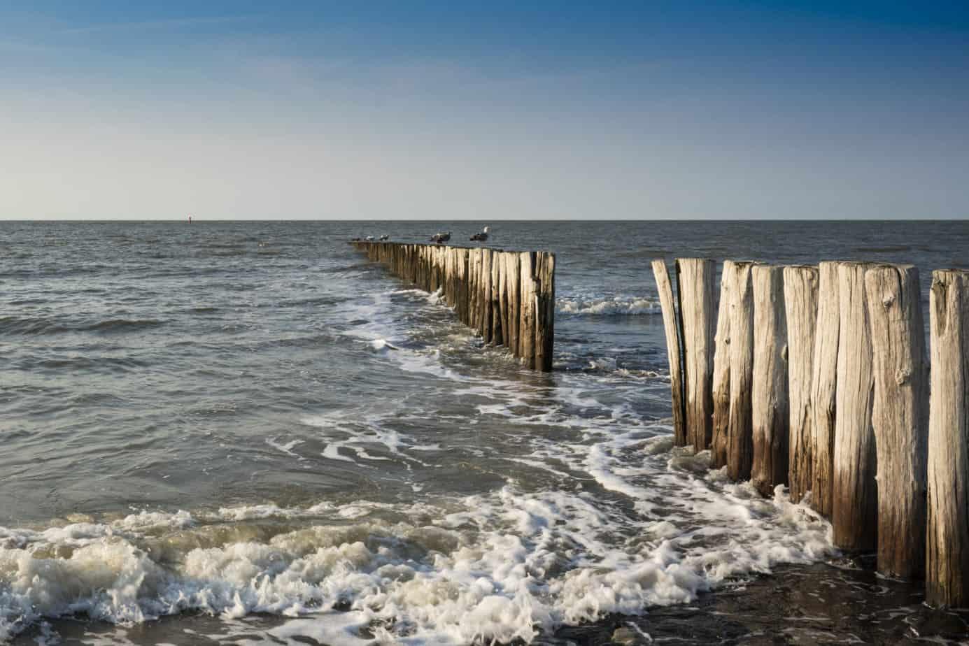 De stranden bij Sluis
