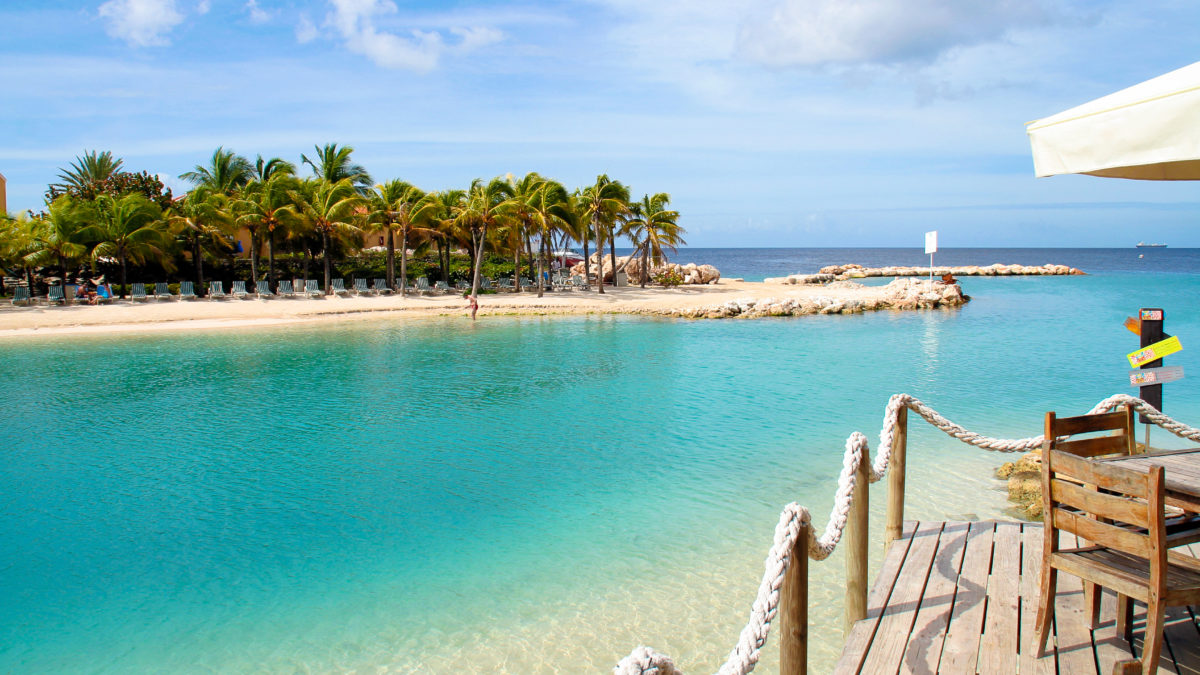 Droom weg in Curaçao