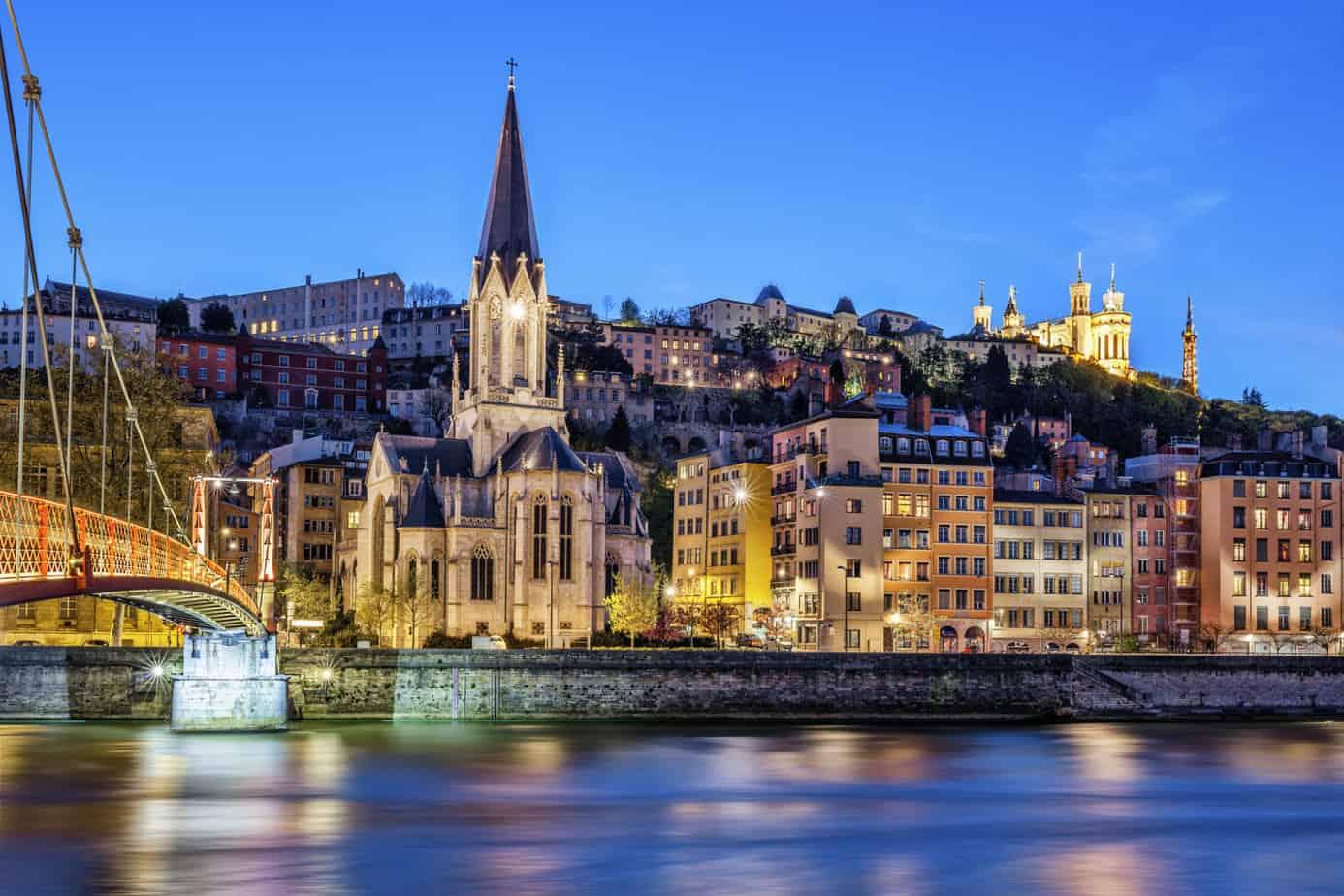 De kathedraal van Lyon