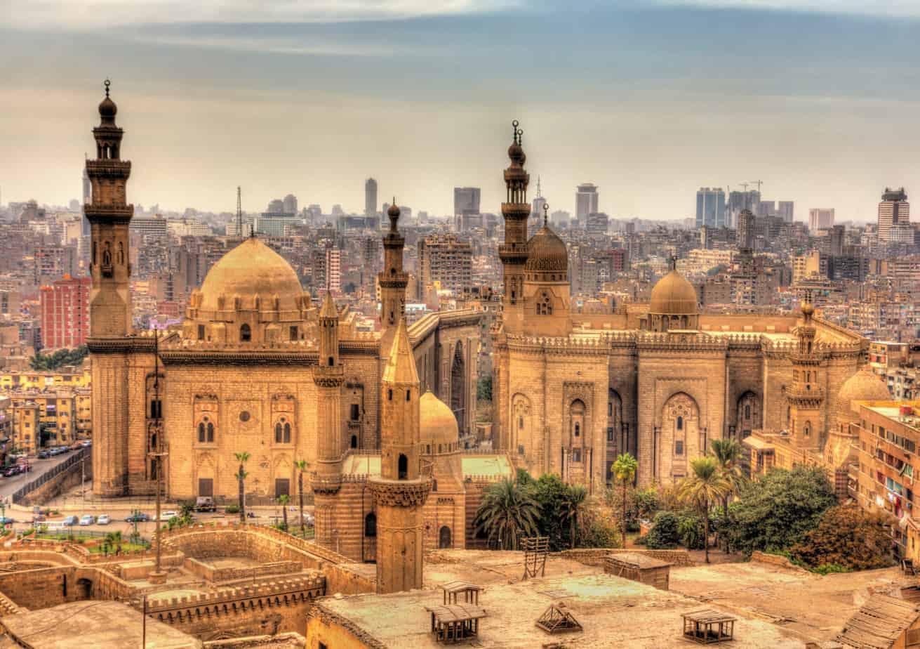 Moskee, Cairo, Egypte