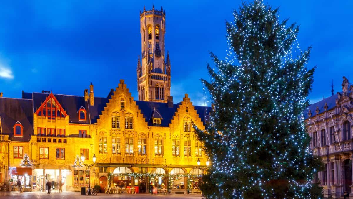 De knusse Kerstmarkt van Brugge