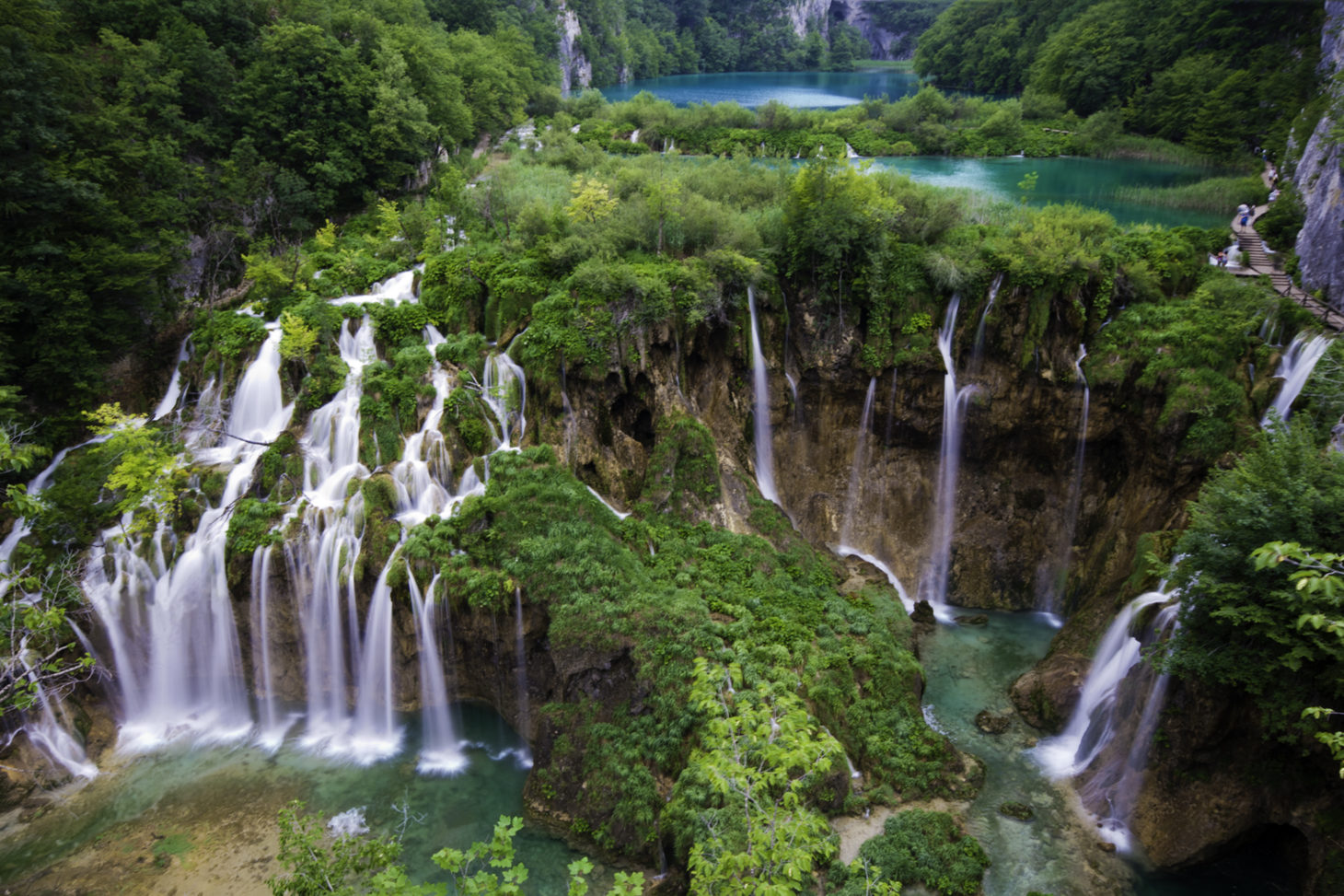 Plitvice, Kroatie