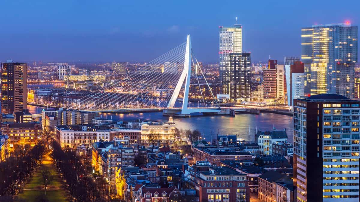Ultiem genieten in Rotterdam