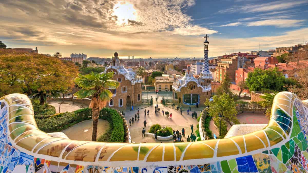 Prachtige plekjes in Barcelona? Park Guell is er een van