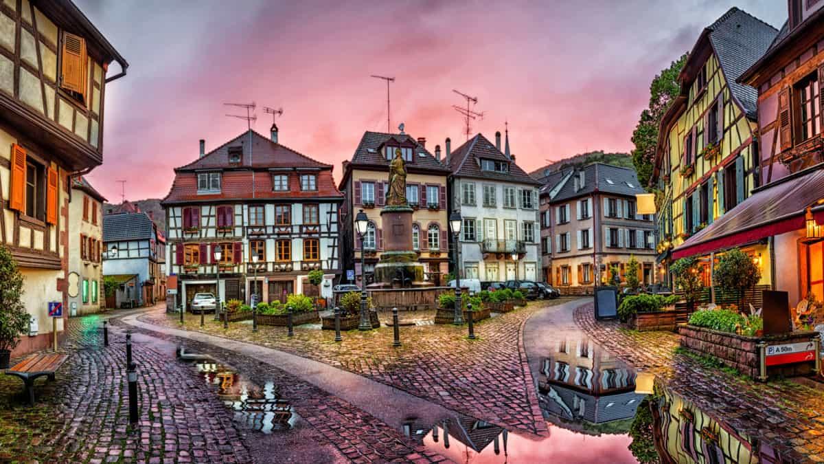 Ribeauville, een mooi stukje van de Vogezen