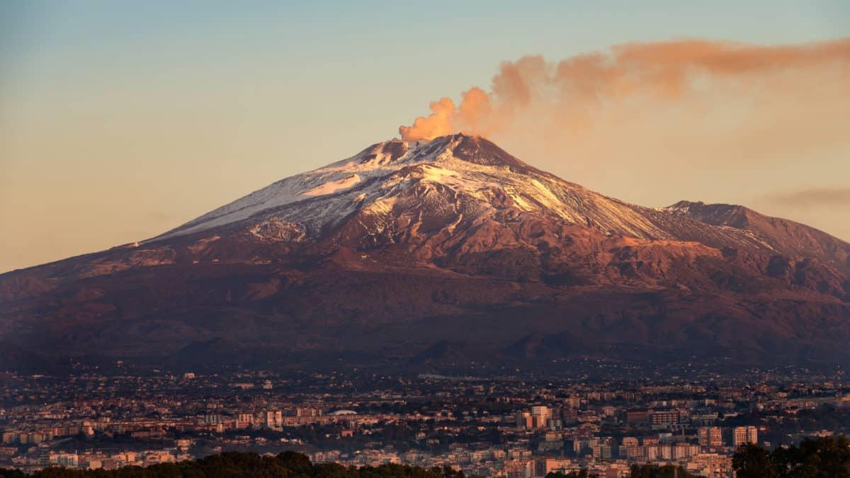 Ontdek vulkaan Etna