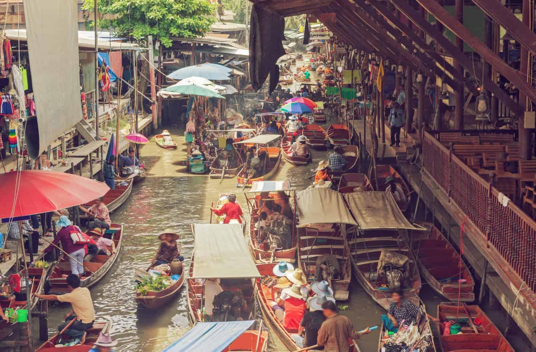 Binnenstad van Bangkok