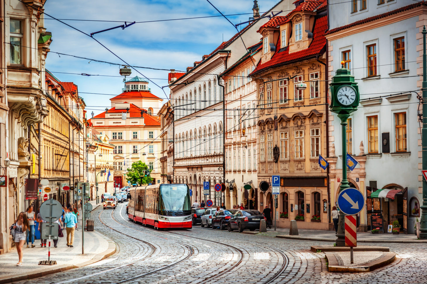 Binnenstad van Praag