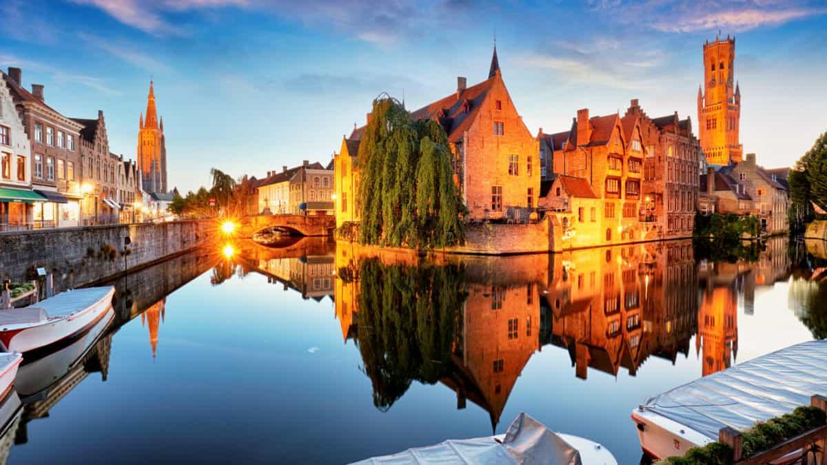 Brugge: stad van de romantiek