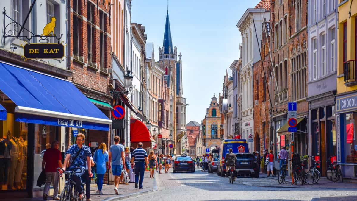 Shoppen in Brugge