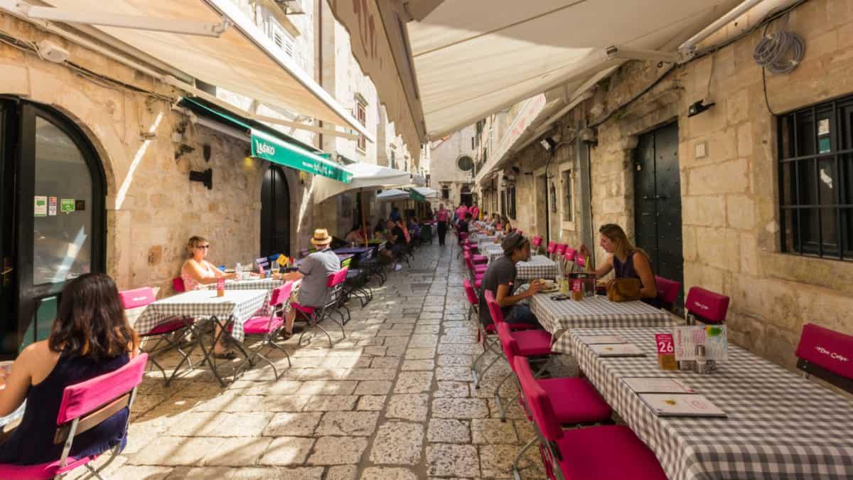 Culinair genieten in Dubrovnik