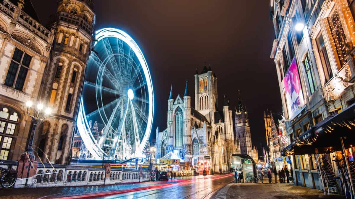 Een avondje doorbrengen in Gent