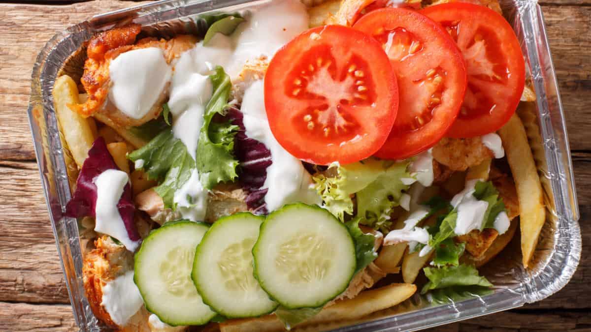 Kapsalon, een echte culinaire Rotterdamse uitvinding