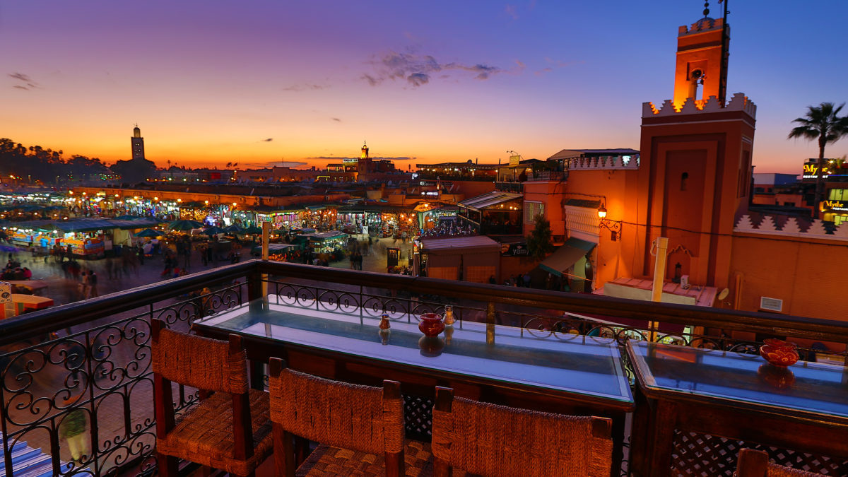 Genieten van de cultuur in Marrakech