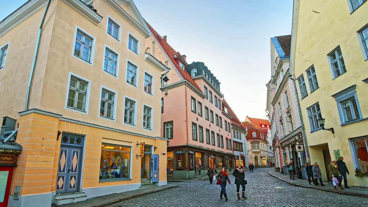 Shoppen in Tallinn