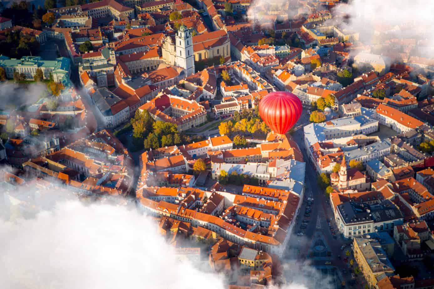 Vilnius luchtballon
