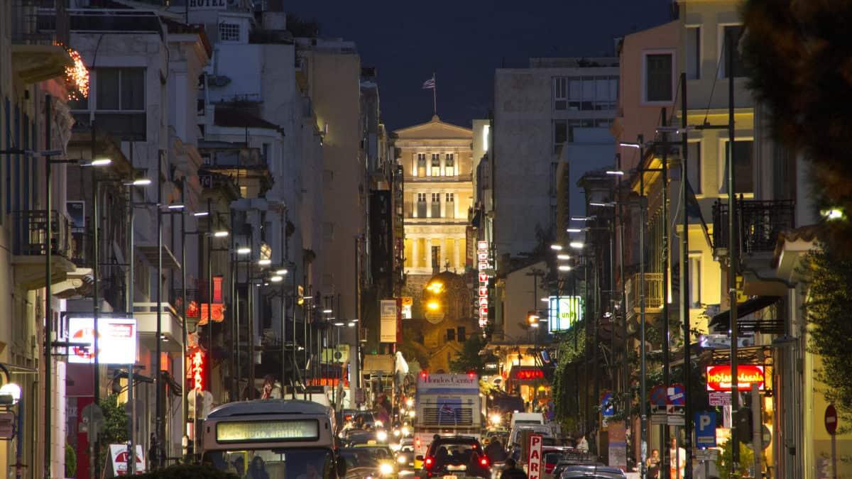 Openbaar vervoer in Athene