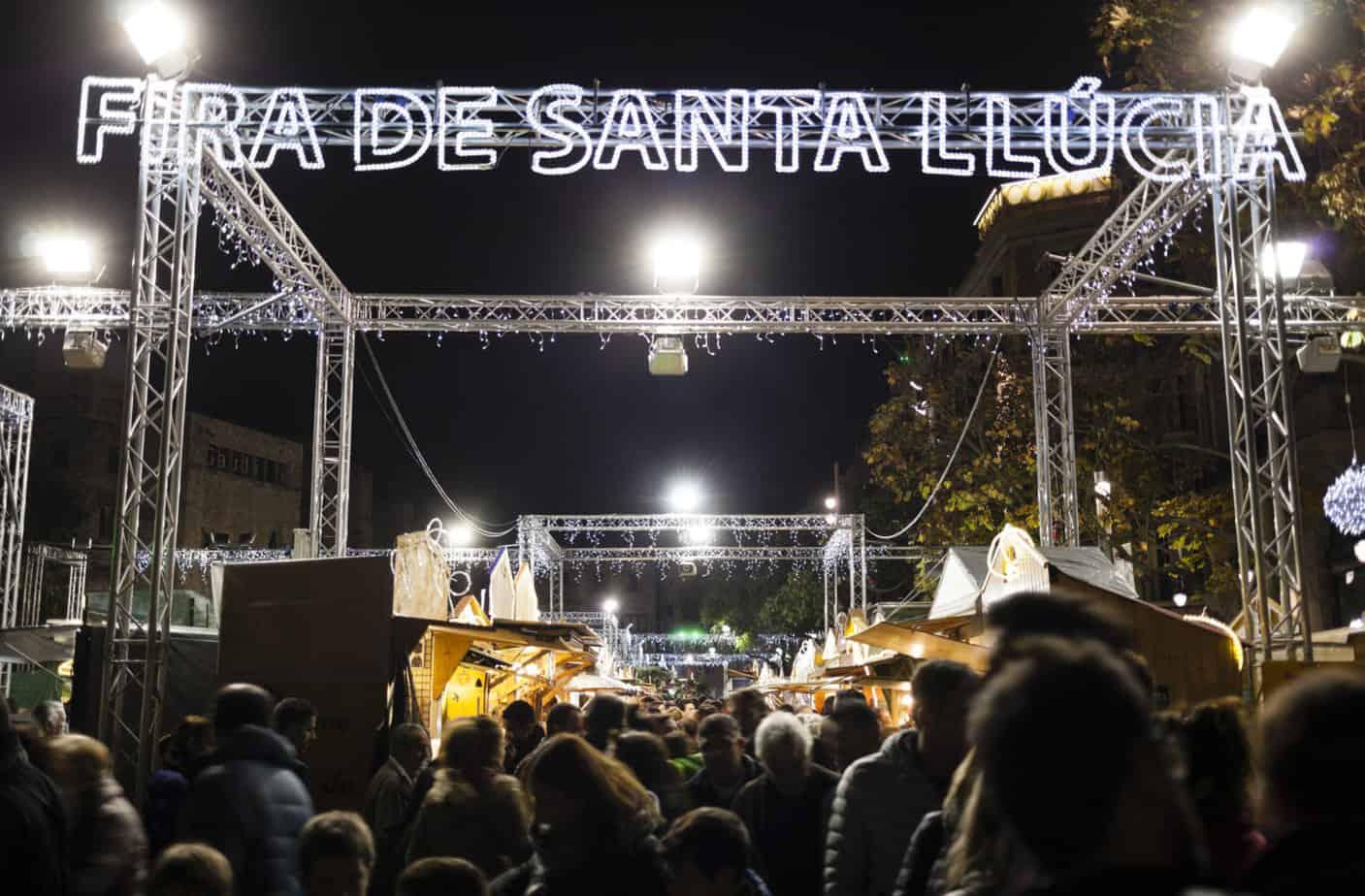 Barcelona kerstmarkt