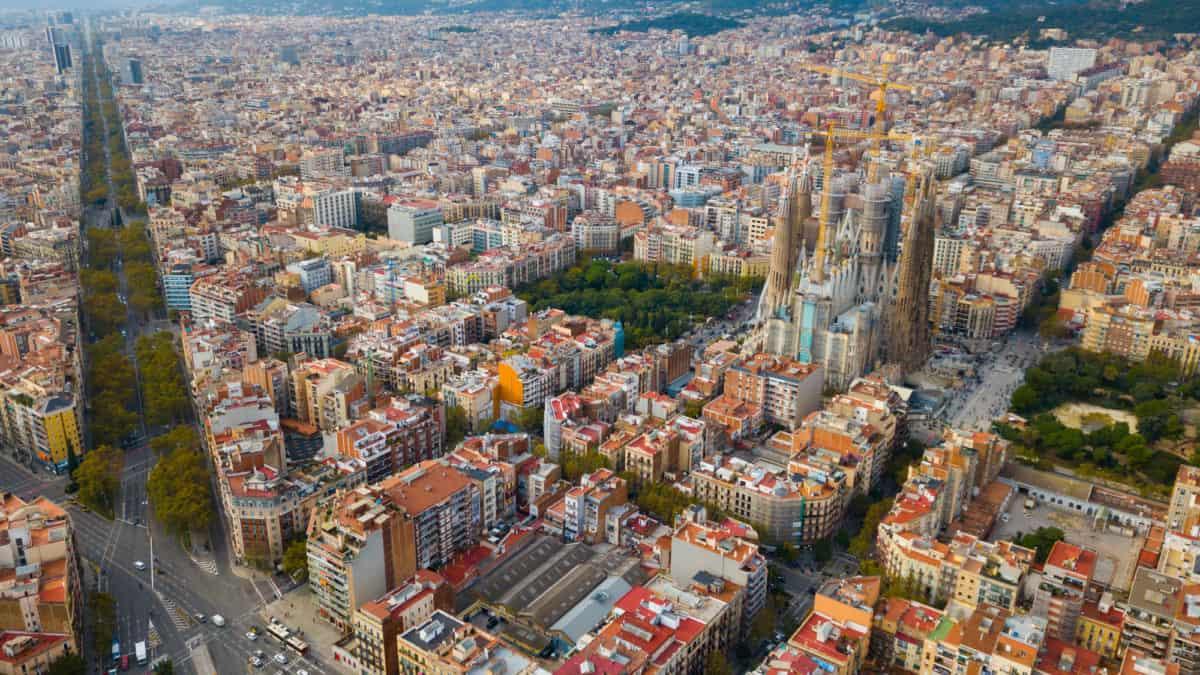 Het weer en klimaat in Barcelona