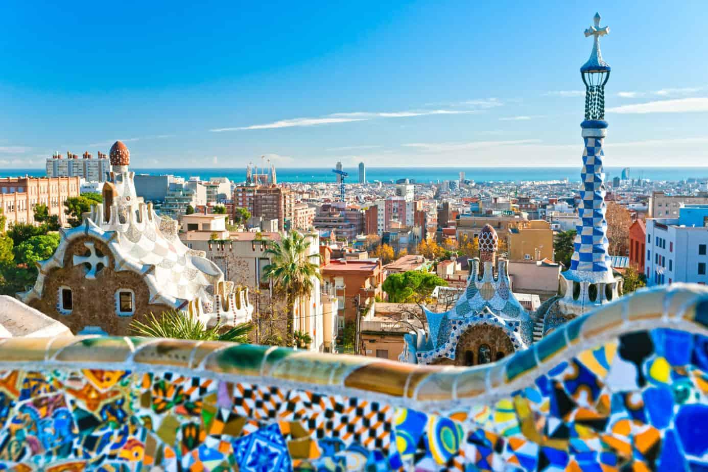 Barcelona zomer