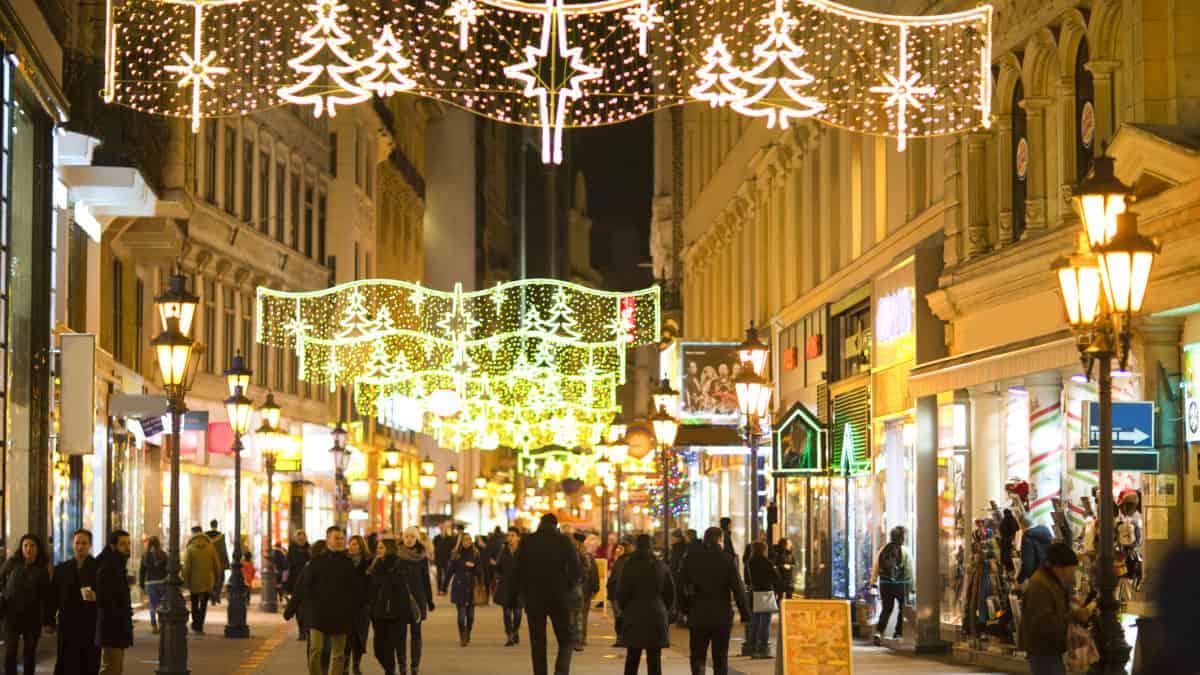 Kerstmarkten in Boedapest